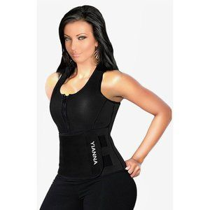Yianna Neoprene Sauna Vest With Adjustable Belt